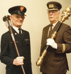 The University and City of Bradford Mace-bearers, 1988