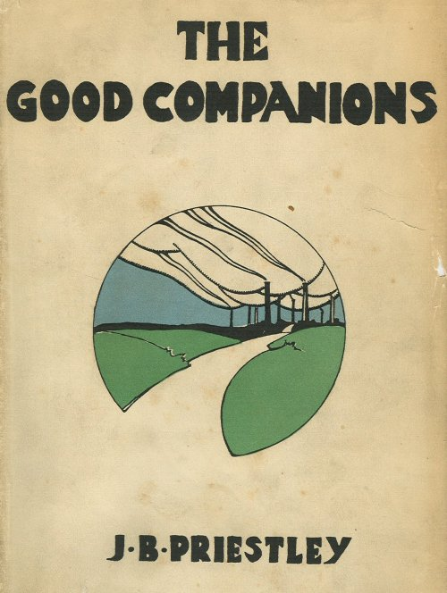 Cover of The Good Companions Heinemann 1929